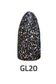 Chisel Acrylic & Dipping 2oz - GLITTER 20