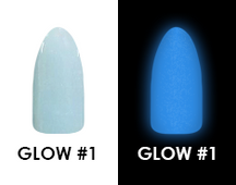 Chisel Acrylic & Dipping 2 oz - GLOW #1 - Glow in the Dark Collection