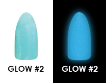 Chisel Acrylic & Dipping 2 oz - GLOW #2 - Glow in the Dark Collection
