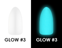 Chisel Acrylic & Dipping 2 oz - GLOW #3 - Glow in the Dark Collection