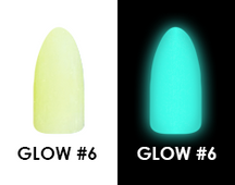 Chisel Acrylic & Dipping 2 oz - GLOW #6 - Glow in the Dark Collection