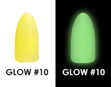 Chisel Acrylic & Dipping 2 oz - GLOW #10 - Glow in the Dark Collection