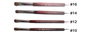 PND French Nail Brushes #10 to #16 (Price is base on selected size)