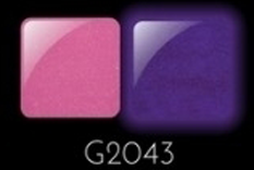 Glam & Glits Powder 1 oz - GLOW ACRYLIC - GL2043 LOVE ME TINDER (SHIMMER)
