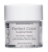 CND Powder, Pure White Opaque 0.8oz