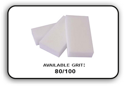 Slim Buffer - White/White - 100/120 Grit (Pack/20 pcs)