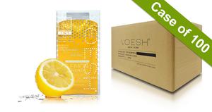 Voesh Case/100pks - Pedi in a Box - 3 Step Basic - Lemon Quench (VPC118LMN)