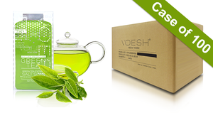 Voesh Case/100pks - Pedi in a Box - 3 Step Basic - Green Tea (VPC118GRT)