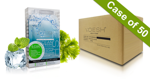 Voesh Case/50pks - Pedi in a Box - 4 Step Deluxe - Ocean Refresh (VPC208MRN)