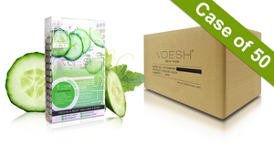 Voesh Case/50pks - Pedi in a Box - 4 Step Deluxe - Cucumber Fresh (VPC208CMB)