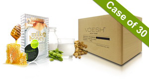 Voesh Case/30pks - Pedi in a Box - 6 Step Ultimate - Milk & Honey (VPC607MLK)