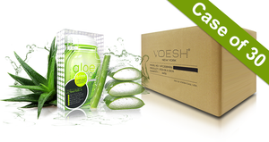Voesh Case/30pks - Pedi in a Box - 6 Step Ultimate - Aloe Vera (VPC607ALO)