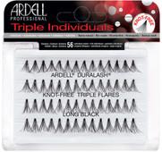 Ardell Duralash Naturals - Triple Individual Knot Free Flares - Long Black (#66497)