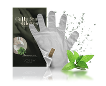 Voesh - Collagen Gloves with Herb Extract (VHM212PEP)