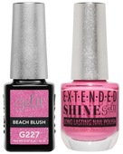Gel II + Matching Extended Shine Polish - G227 & ES227 - BEACH BLUSH