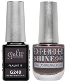 Gel II + Matching Extended Shine Polish - G248 & ES248 - FLAUNT IT