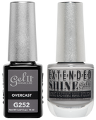 Gel II + Matching Extended Shine Polish - G252 & ES252 - OVERCAST