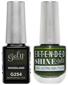 Gel II + Matching Extended Shine Polish - G254 & ES254 - WOODLAND