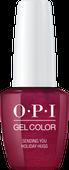 OPI GelColor - #HPJ08 - Sending You Holiday Hugs - Love XOXO Collection .5 oz