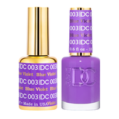 DND DC Duo Gel - #003  BLUE VIOLET
