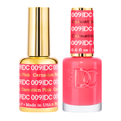 DND DC Duo Gel - #009  CARNATION PINK