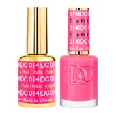 DND DC Duo Gel - #014  TULIP PINK
