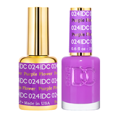 DND DC Duo Gel - #024  PURPLE FLOWER