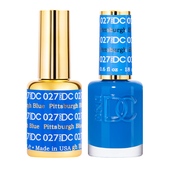 DND DC Duo Gel - #027  Pittsburgh BLue