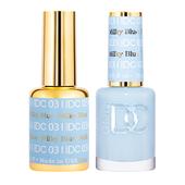 DND DC Duo Gel - #031  MILKY BLUE