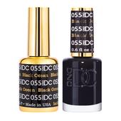 DND DC Duo Gel - #055  BLACK OCEAN