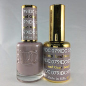 DND DC Duo Gel - #079  LEAD GRAY