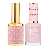 DND DC Duo Gel - #141  PINK CHAMPAGNE