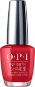 OPI Infinite Shine - #ISLZ13 - COLOR SO HOT IT BERNS .5 oz