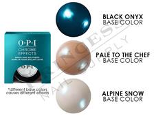 """OPI Chrome Powder - #CP004 - Blue """"Plate"""" Special 0.1oz - 3g"""