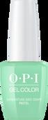 OPI GelColor - #GC103A - PASTEL GARGANTUAN GREEN GRAPE .5oz