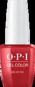 OPI GelColor - #GCA70A - RED HOT RIO .5oz