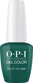 OPI GelColor - #GCW54A - STAY OFF THE LAWN! .5oz