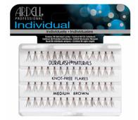 Ardell Duralash Naturals - Knot Free Flares - Medium Brown (#65053)
