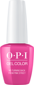 OPI GelColor - #GCL19 - No Turning Back From Pink Street - Lisbon Collection .5 oz