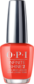 OPI Infinite Shine - #ISLL22 - A Red-vival City - Lisbon Collection .5 oz