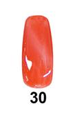 DND DC Cateye Gel - #30 Orange Ocicat