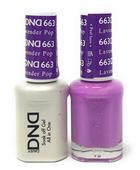 DND Duo Gel - #663 Lavender Pop