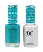 DND Duo Gel - #669 Fierce Sapphire
