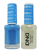 DND Duo Gel - #671 Blue Hawaiian