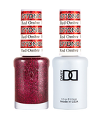 DND Duo Gel - #677 Red Ombre