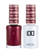 DND Duo Gel - #701 Wanna Wine