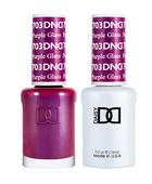 DND Duo Gel - #703 Purple Glass