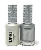 DND Duo Gel - #705 Silver Dreamer