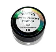 WaveGel Chrome Powder 1g - Hyper Chrome 02
