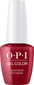 OPI GelColor - #GCR53 An Affair in Red Square .5 oz